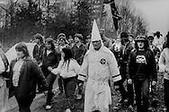KKK March, Forsythe County, GA.  1987
