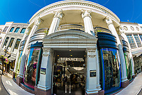 Via Rodeo (Rodeo Drive) luxury shopping street, Beverly Hills, California USA.