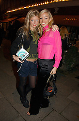 Left to right, LAINEY SHERIDAN-YOUNG and NOELLE RENO at a party to launch Pearl Lowe's fashion held at The Cross. 141 Portland Road, Holland Park, W11 on 30th October 2006.<br /><br />NON EXCLUSIVE - WORLD RIGHTS