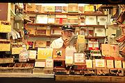 Key West, Florida.  A cigar shop on Duvall Street.