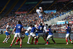 March 16, 2019 - Rome, RM, Italy - Alessandro Zanni of Italy during the Six Nations International Rugby Union match between Italy and France at Stadio Olimpico on March 16, 2019 in Rome, Italy. (Credit Image: © Danilo Di Giovanni/NurPhoto via ZUMA Press)