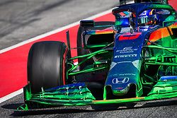 February 21, 2019 - Barcelona, Spain - 23 ALBON Alexander (tha), Scuderia Toro Rosso Honda STR14, action green paint  during Formula 1 winter tests from February 18 to 21, 2019 at Barcelona, Spain - Photo  Motorsports: FIA Formula One World Championship 2019, Test in Barcelona, (Credit Image: © Hoch Zwei via ZUMA Wire)