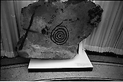 14/11/1967<br /> 11/14/1967<br /> 14 November 1967<br /> ROSC 1967 Exhibition at the National Museum. The exhibition of Celtic Art held at the National Museum, Kildare Street in connection with the ROSC Exhibition of Modern Art was opened to the public on Tuesday.  Picture shows part of the exhibition of anciect Irish stone carvings in the Museum