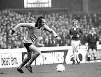 Fotball<br /> England <br /> Foto: Colorsport/Digitalsport<br /> NORWAY ONLY<br /> <br /> Derek Dougan - Wolverhampton Wanderers. Everton v Wolverhampton Wanderers 9/12/72