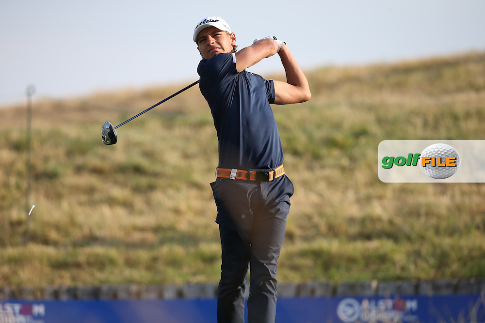 Joakim Lagergren (SWE) on the 17th tee during Round One of the 2015 Alstom Open de France, played at Le Golf National, Saint-Quentin-En-Yvelines, Paris, France. /03/07/2015/. Picture: Golffile | David Lloyd<br /> <br /> All photos usage must carry mandatory copyright credit (© Golffile | David Lloyd)