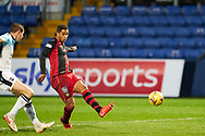 25 iof St MirrenEthan Erhahon fires during the Scottish Premiership match between Ross County FC and St Mirren FC at the Global Energy Stadium, Dingwall, Scotland on 26 December 2020