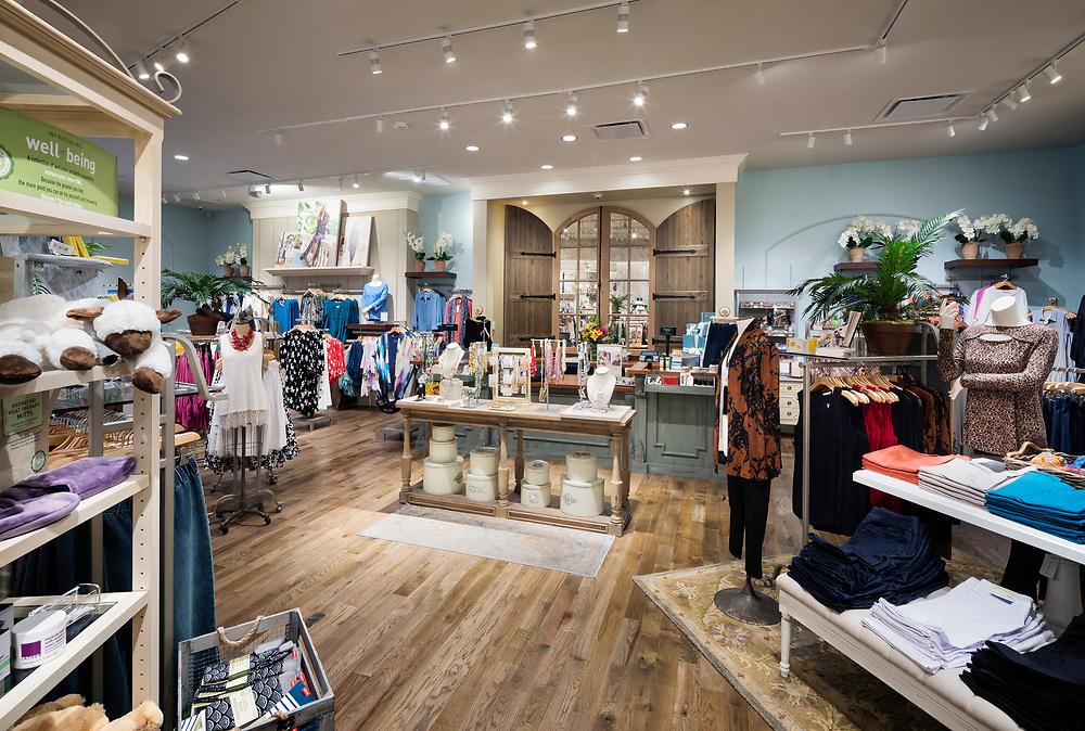 Interior of Soft Surroundings Store