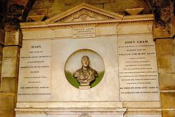 The tomb of William Adam, Architect in Grey Friars church yard in Edinburgh, Scotland<br /> <br /> (c) Andrew Wilson   Edinburgh Elite media