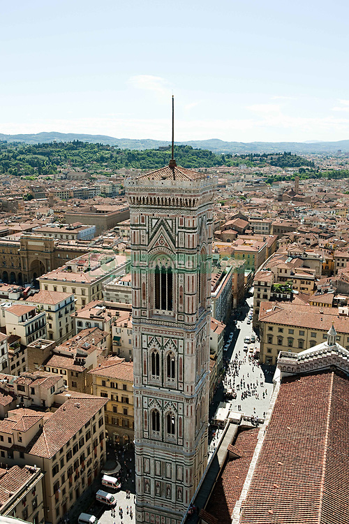 Aug. 22, 2012 - Campanile of Santa Maria del Fiore, Florence, Italy (Credit Image: © Image Source/ZUMAPRESS.com)