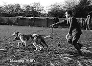 Coursing in the 1940's..Picture by Harry MacMonagle