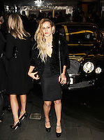 LONDON - NOVEMBER 27: Alice Dellal attended the British Fashion Awards 2012 at The Savoy Hotel, London, UK. (Photo by Richard Goldschmidt)