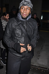 Musician Mos Def leaving Calvin Klein fashion show during NYFW at the New York Stock Exchange on February 13, 2018 in New York City, NY, USA. Photo by MM/ABACAPRESS.COM