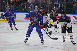 August 16, 2017 - Petersburg, Russia - Of The Russian Federation. Saint-Petersburg. Palace of sports Ice. SKA ice hockey club defeated the team Canada hockey with the score 3:0. The tournament name Nicholas Puchkova. (Credit Image: © Russian Look via ZUMA Wire)