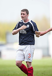 Falkirk's Thomas Scobie substituted near the end of the game, as he plays his last game for Falkirk..Falkirk's Football Club's last game of season 2011-2012..Falkirk 3 v 2 Ayr United, 5/5/2012..©Michael Schofield..