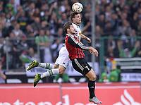 BILDET INNGÅR IKEK I FASTAVTALER. ALL NEDLASTING BLIR FAKTURERT.<br /> <br /> Fotball<br /> Tyskland<br /> Foto: imago/Digitalsport<br /> NORWAY ONLY<br /> <br /> Fußball 1. Bundesliga 12. Spieltag Borussia Mönchengladbach - FC Ingolstadt am 07.11.2015 im Borussia-Park in Mönchengladbach Mathew Leckie ( Ingolstadt ), vorne - Håvard Nordtveit ( Mönchengladbach ), hinten