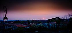 The sun rises over the city of Carcassonne in southern France<br /> <br /> (c) Andrew Wilson | Edinburgh Elite media