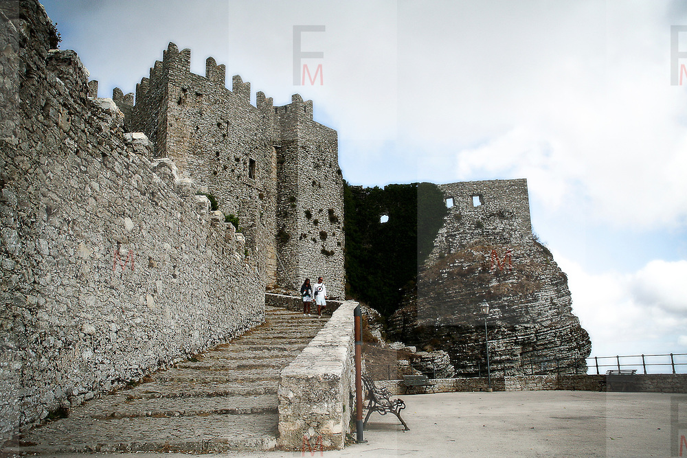 Old castle in Erice
