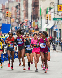 NYC Marathon, Dado misses water at mile 11