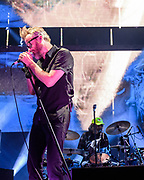 WASHINGTON, DC - December 5th, 2017 - Matt Berninger and Bryan Devendorf of The National perform at The Anthem in Washington, D.C.  The band released their  seventh album, Sleep Well Beast, in September. (Photo by Kyle Gustafson / For The Washington Post)