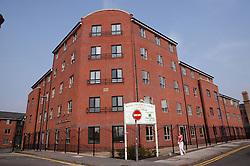 New housing in Gamble Street; Nottingham,