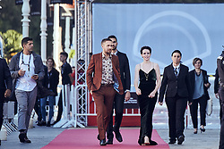 September 24, 2018 - San Sebastian, Madrid, Spain - Ryan Gosling, Claire Foy attended 'First Man' Premiere during the 66th San Sebastian International Film Festival at  Victoria Eugenia Theater on September 24, 2018 in San Sebastian, Spain (Credit Image: © Jack Abuin/ZUMA Wire)