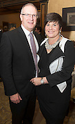 Repro free: At the Gorta Self Help Africa annual Ball at hotel Meyrick, Galway were John Raftery and his wife Elizabeth . Photo:Andrew Downes