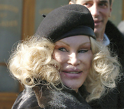 Jocelyn Wildenstein 'shows her face' in Soho, New York City, NY, USA, on March 4, 2005. Photo by Frank Ross/ABACA.  | 74445_01 New York City