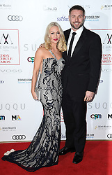 Kristina Rihanoff and Ben Cohen arriving at the London Film Critics Circle Awards 2017, the May Fair Hotel, London.
