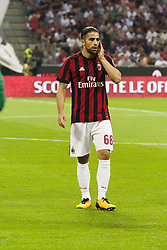 August 3, 2017 - Milan, Italy - Ricardo Rodriguez during the preliminaries of Europa League 2017/2018 match between Milan v Craiova, in Milan, on august 3, 2017  (Credit Image: © Loris Roselli/NurPhoto via ZUMA Press)