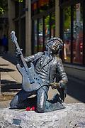 Jimi Hendrix sculpture in Seattle's Capitol Hill neighborhood