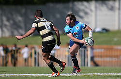 Burger Odendaal of the Blue Bulls looks for support during the Currie Cup premier division match between the Boland Cavaliers and The Blue Bulls held at Boland Stadium, Wellington, South Africa on the 23rd September 2016<br /> <br /> Photo by:   Shaun Roy/ Real Time Images