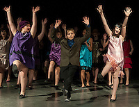 Thoroughly Modern Millie Jr at Laconia Middle School.  Karen Bobotas/for the Laconia Daily Sun