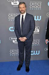 Judd Apatow at The 23rd Annual Critics' Choice Awards held at the Barker Hangar on January 11, 2018 in Santa Monica, CA, USA (Photo by Sthanlee B. Mirador/Sipa USA)