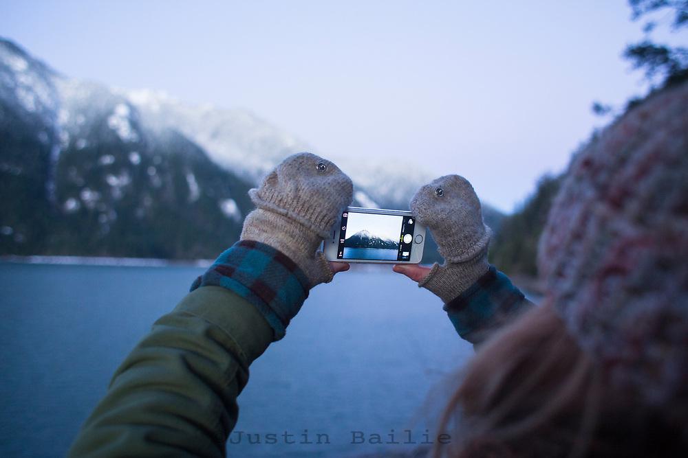 Lake Cushman, Washington.