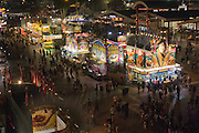 Night time View of the Annual Orange County Fair