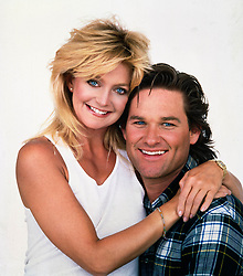 Dec 16, 1987; Hollywood, CA, USA; Pictured: GOLDIE HAWN as Joanna Stayton and KURT RUSSELL as Dean Proffitt from the 1987 film 'Overboard.'  (Credit Image: © Courtesy of MGM/Entertainment Pictures/ZUMAPRESS.com)