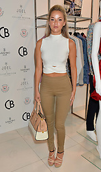 NATALIE JOEL at the launch for the collaboration of Joel Swimwear for Collier Bristow held at Collier Bristow, 61 King's Road, Chelsea, London on 11th August 2016.