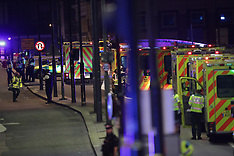 London: Terrorist Incident at London Bridge - 3 June 2017