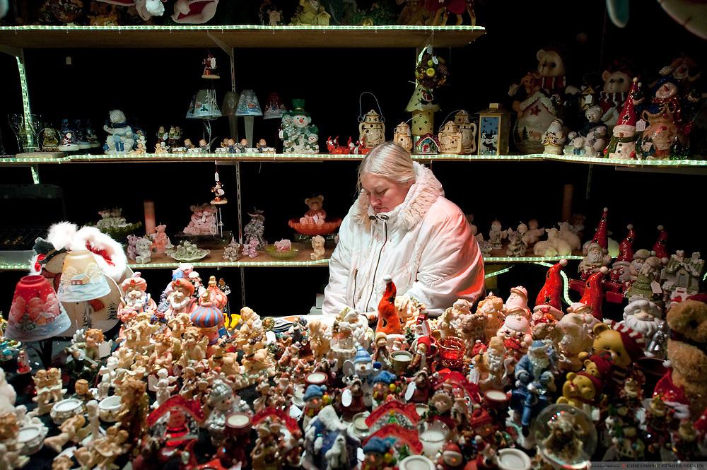Ghent, Belgium, Dec 22, 29, Chrismass market Ghent. REPORTERS©Christophe Vander Eecken