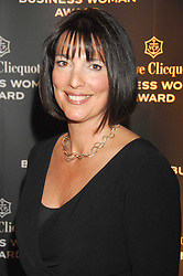 CAROLYN McCALL Chief Executive of the Guardian Media Group winner of the Veuve Clicquot Business Woman Award at the Veuve Clicquot Business Woman Award held at The Berkeley Hotel, London on 8th April 2008.<br />