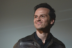 May 4, 2017 - Krakow, Poland - An Irish film actor and a special guest of the festival, Andrew Scott, attends the screening of 'Handsome Devil' at Malopolski Ogrod Sztuki during NETIA OFF CAMERA International Festival of Independent Cinema in Krakow. .On Thursday, May 4, 2017, in Krakow, Poland. (Credit Image: © Artur Widak/NurPhoto via ZUMA Press)