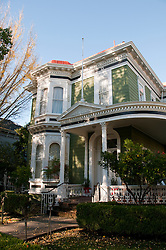 California: Napa City, exterior  during B&B Holiday Tour at McClelland Priest house.  Photo copyright Lee Foster.  Photo # canapa107277