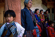 Rural tribes make their annual pilgrimage to the Punakha Festival,where buddhist rituals and dancing are held inside the magnificent Dzong, or monastery.