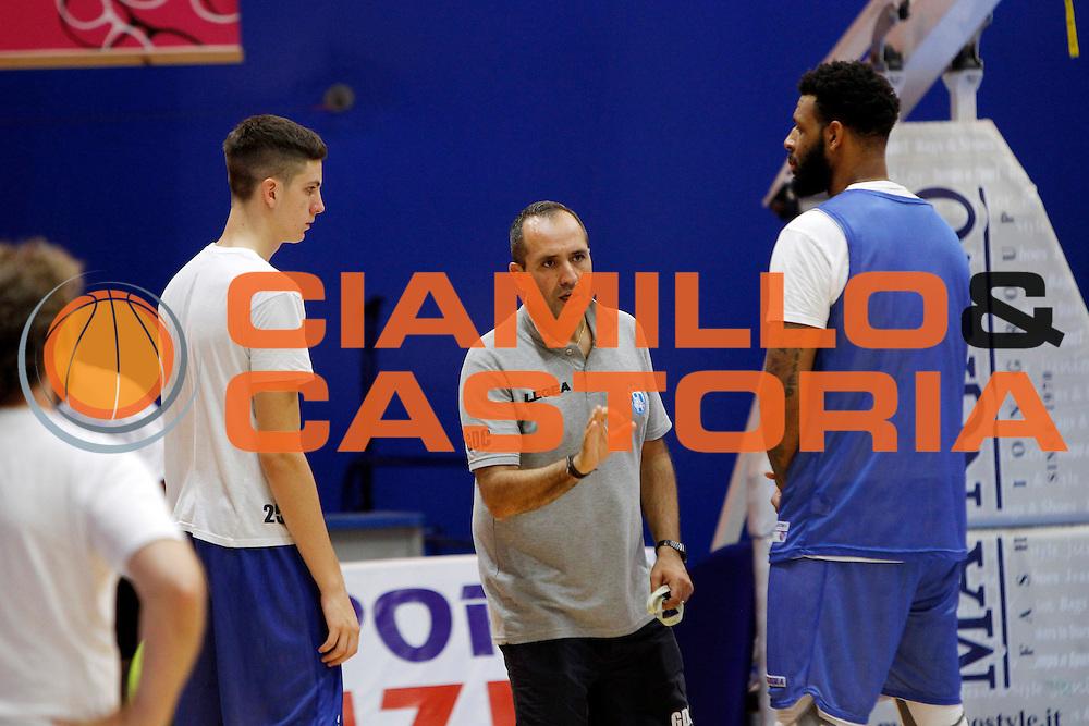 Head Coach Gennaro Di Carlo<br /> Betaland Capo D'Orlando allenamento precampionato<br /> Lega Basket Serie A 2016/2017 <br /> Capo D'Orlando 02/09/2016<br /> Foto Ciamillo-Castoria