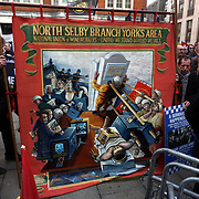 """Hundreds protest against the Home Office decision not to grant an inquiry into """"The Battle of Orgreave"""" on 13th March in London.UK. by See"""