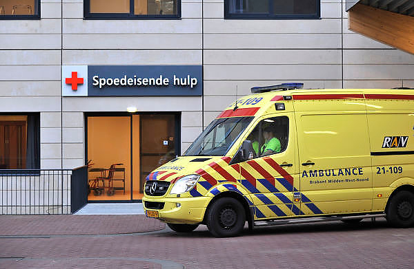 Nederland, Nijmegen, 6-2-2012De ingang van de nieuwe seh van het umc radboud ziekenhuis.Foto: Flip Franssen