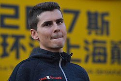 October 28, 2017 - Shanghai, China - Warren Barguil (FRA) from Team Sunweb, during the 1st TDF Shanghai Criterium 2017 - Media Day..On Saturday, 28 October 2017, in Shanghai, China. (Credit Image: © Artur Widak/NurPhoto via ZUMA Press)