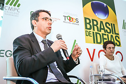 """O """"Brasil de Ideias"""", da Revista VOTO, recebeu o secretário de Desenvolvimento Econômico, Ciência e Tecnologia do RS, Fábio Branco, a professora de Relações Internacionais da ESPM, Ana Simão, e o fundador e CEO da 4all Tecnologia, José Renato Hopf, no Sheraton Porto Alegre Hotel, para debater o tema """"Inovação e a Inserção dos Estados nos Mercados Internacionais"""".  Foto: Gustavo Roth/ Agência Preview"""