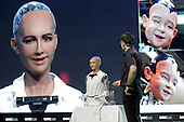 Hanson Robotics Unleash Creepy Robot Sofia On 2016 Global Mobile Internet Conference