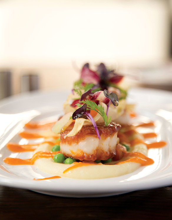 The scallops at the Guild House for the Best New Restaurants issu of Columbus Monthly. (Will Shilling/Columbus Monthly)